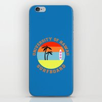 hawaii iPhone & iPod Skins featuring Hawaii by lescapricesdefilles