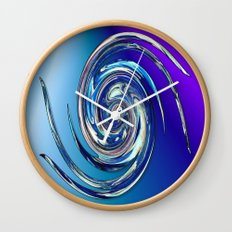 Water Witch  v.2 Wall Clock