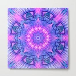 Dream Star Mandala Metal Print