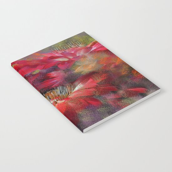 Gerbera mystery(magical). Notebook
