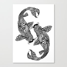 Koi Carp Canvas Print