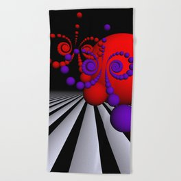 playing with colors and forms -03- Beach Towel