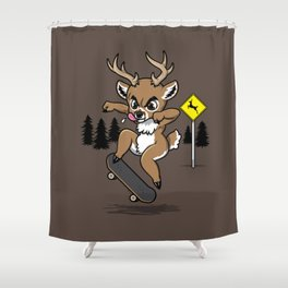Skate Buck Shower Curtain