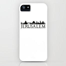 Jerusalem Israel Middle East Love Travel iPhone Case