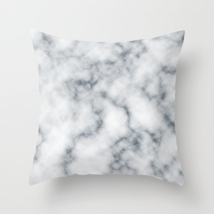 Marble Cloud Throw Pillow