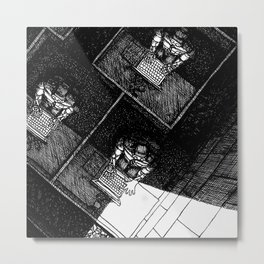 Shift Break Metal Print