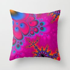 Imagine in Color Throw Pillow