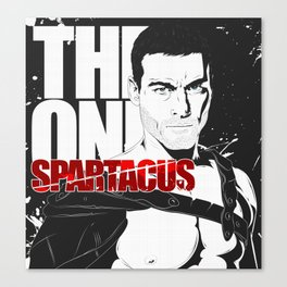THE ONE SPARTACUS Canvas Print