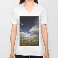 oklahoma V-neck T-shirts featuring Oklahoma by Tanner Albert