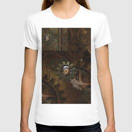 Noble steampunk design T-shirt