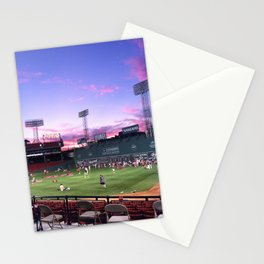 Fenway at Sunset Stationery Cards