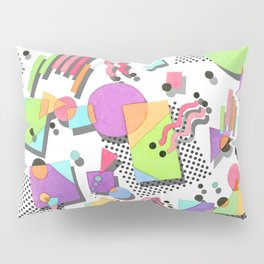 Rad 80s Memphis Pillow Sham