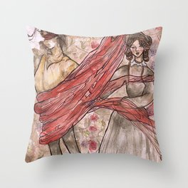 Jane Eyre. An Autobiography Throw Pillow