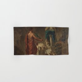 12,000pixel-500dpi - Eugene Delacroix - Lycurgus Consulting The Pythia - Digital Remastered Edition Hand & Bath Towel
