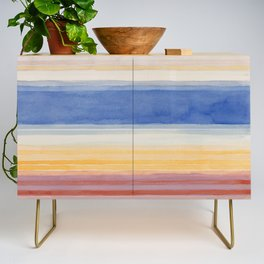 Colorbands Yellowstone Light Pink Credenza