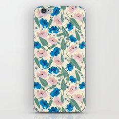 Botanical White iPhone & iPod Skin