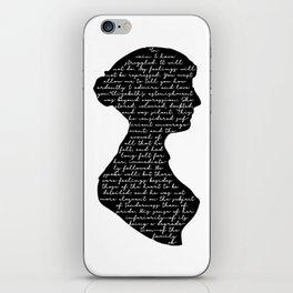 Mr Darcy Proposal iPhone Skin