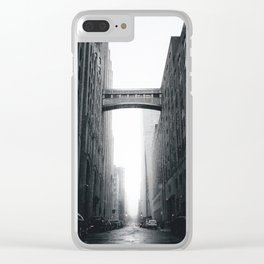 Snow Bridge in New York Clear iPhone Case