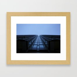 City fang Framed Art Print