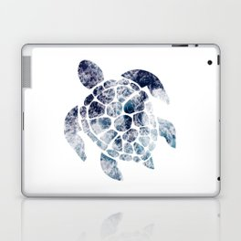 Sea Turtle - Blue Ocean Waves Laptop & iPad Skin