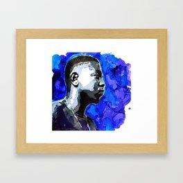 D A M N Framed Art Print