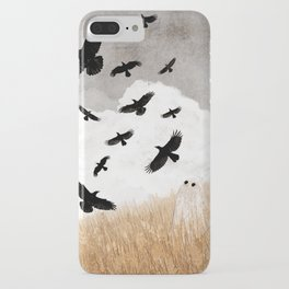 Walter and The Crows iPhone Case