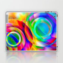Circle Frenzy Laptop & iPad Skin