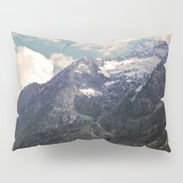 Pikes Peak Digital Painting Pillow Sham