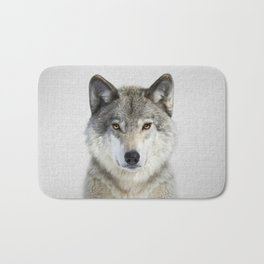 Wolf 2 - Colorful Bath Mat