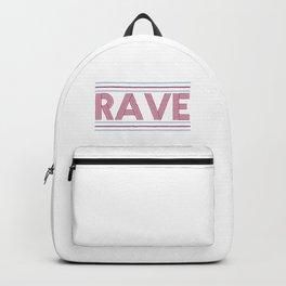 rave prism logo Backpack