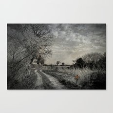 Get Off My Land. Canvas Print