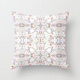 In Earth Tones Throw Pillow