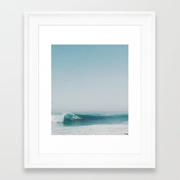 The Ride (Wedge, Newport Beach)  Framed Art Print