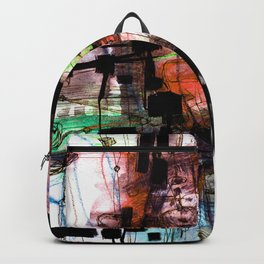 Bedtime 4E by Kathy Morton Stanion Backpack