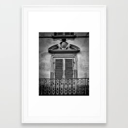Juliet's Balcony Framed Art Print