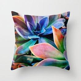 Spectacular Succulents 2 Throw Pillow