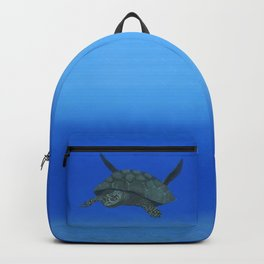 Peaceful Sea Turtle Backpack