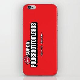 BQ - Super Power Bottom Bros iPhone Skin