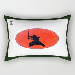 Japanese Bushido Way Of The Warrior Rectangular Pillow