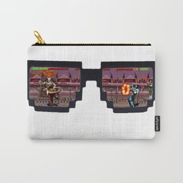 Retro Glasses - KOMBAT edition Carry-All Pouch