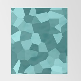 Voronoi Throw Blanket