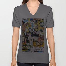 Basquiat World Unisex V-Ausschnitt