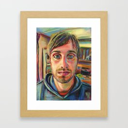 Mug Shot, J. Reanudin Framed Art Print