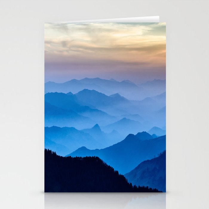 Mountains 11 Stationery Cards