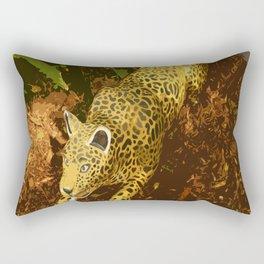 Feline Predator Rectangular Pillow