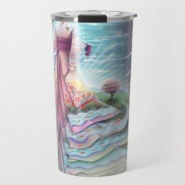 Uzume no Mikoto - By Lunart Travel Mug