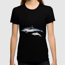 Striped dolphin T-shirt