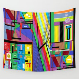 Geometry Abstract Wall Tapestry