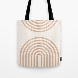Rainbow lines Tote Bag