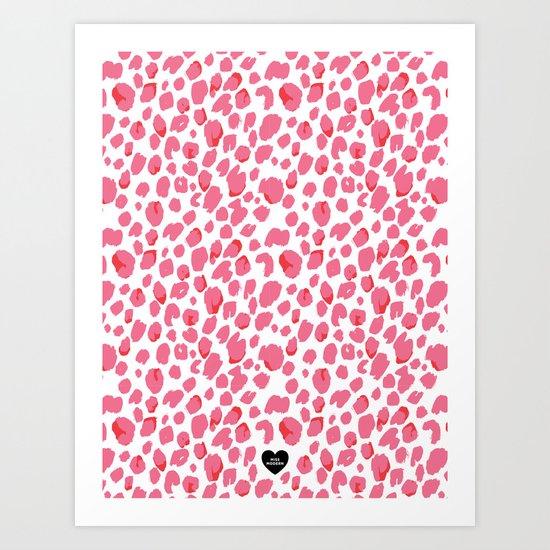 Luxe Leopard Art Print